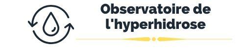 Logo de l'observatoire de l'hyperhidrose